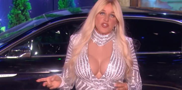 Ellen degeneres bachelor contestant costume video