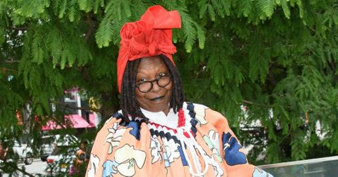 Whoopi Goldberg Crazy Outfit NYC Event Photos hero