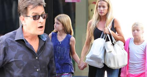 denise richards charlie sheen millions daughters trust fund