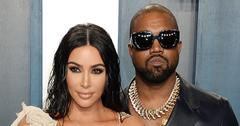 Kim Kardashian Wearing a Beige Dress With Kanye West In Sunglasses