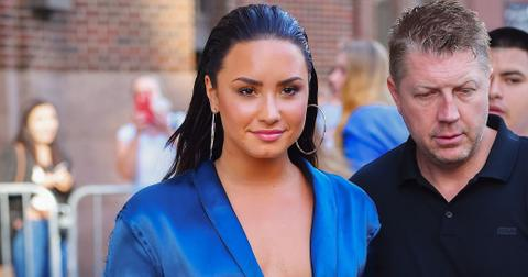 Demi lovato fashion blue
