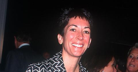 Ghislaine Maxwell in NYC in 2000.