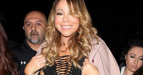 Mariah Carey goes to Catch restaurant in West Hollywood