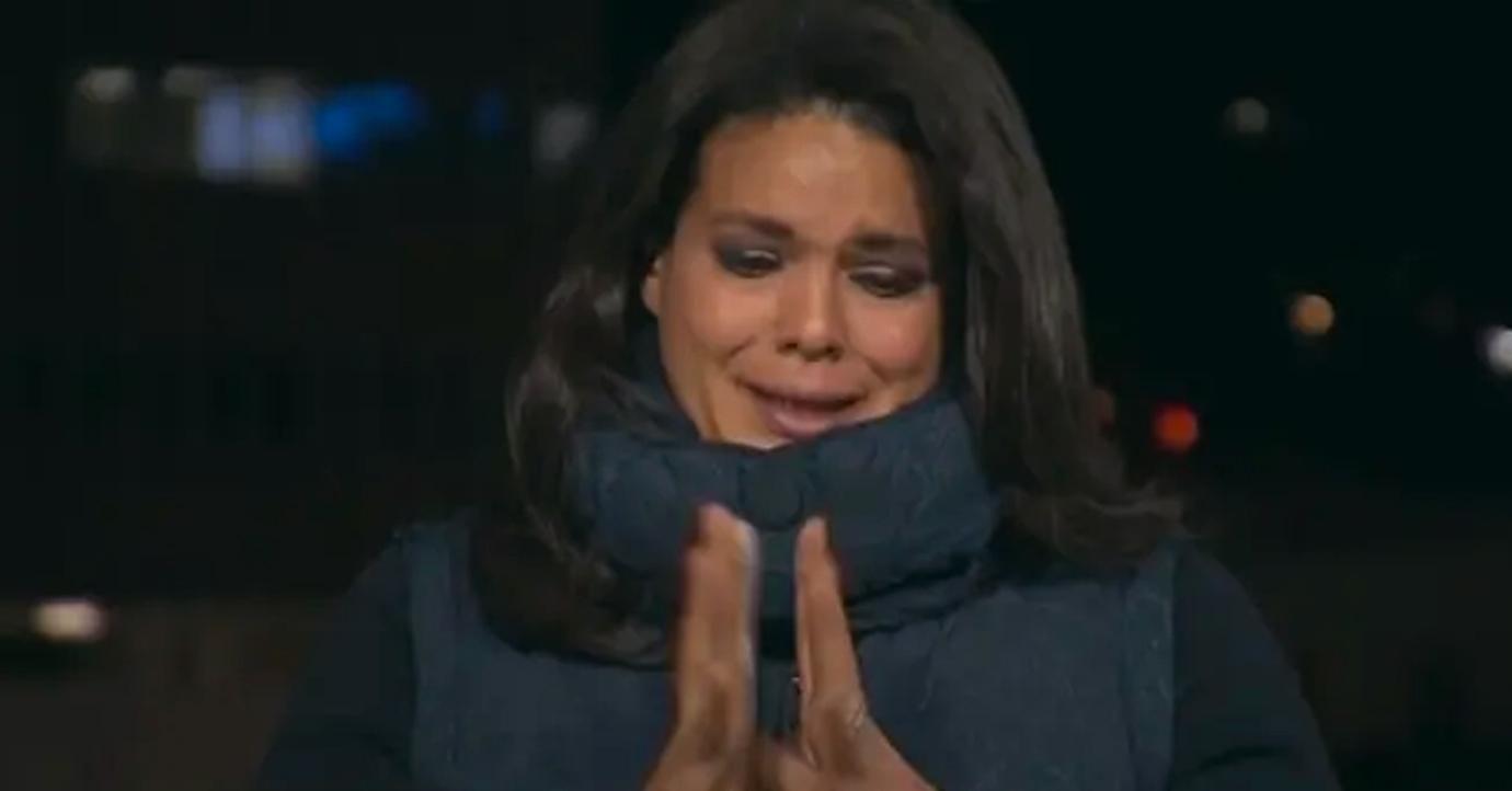 cnn anchor sara sidner breaks down live covid  pandemic pf