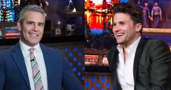 Andy Cohen And Tom Schwartz
