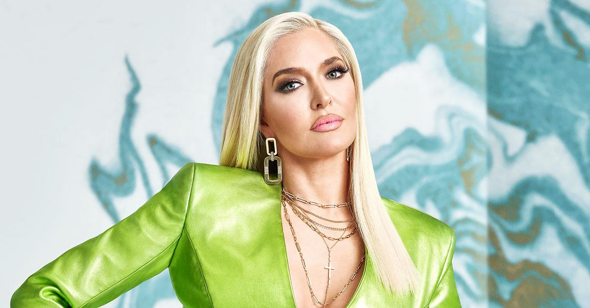 erika jayne teases rhobh reunion look says she does not run and hide ok