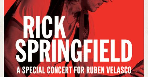Rick Springfield benefit concert