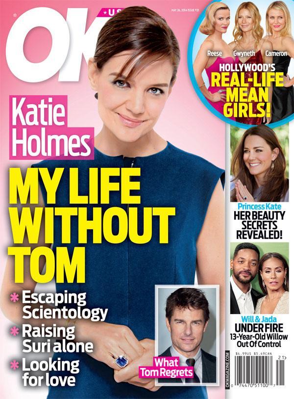 OK Cover – Katie Holmes