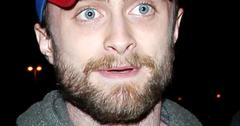Daniel Radcliffe arrives at the Los Angeles International Airport **NO DIALY MAIL SALES**