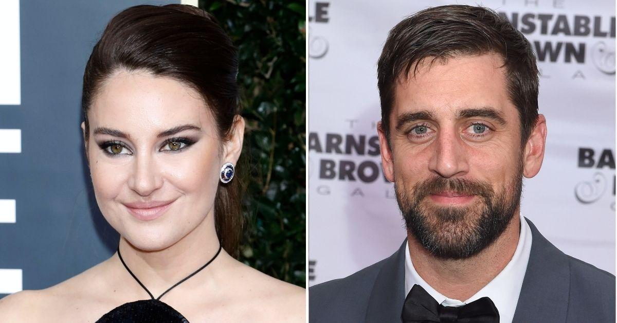 shailene woodley gushes aaron rodgers super sexy attractive jeopardy guest host