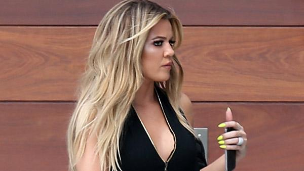 EXCLUSIVE: Khloe Kardashian and friend Malika Haqq all glammed up for filming Keeping up with the Kardashians