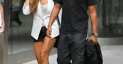 Jay Z and Beyonce leave a movie theater in NYC