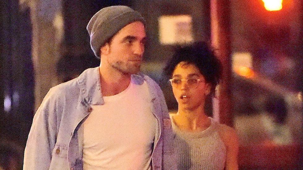 EXCLUSIVE: Robert Pattinson and FKA Twigs have a romantic dinner in Little Italy
