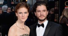 Kit Harington Rose Leslie Dating Together Game Thrones Long