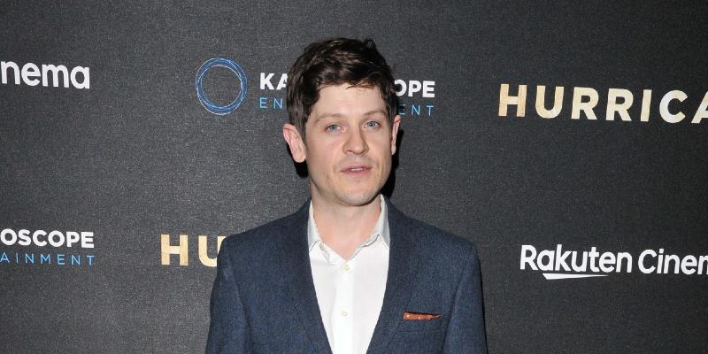 Iwan Rheon at Hurricane UK film premiere