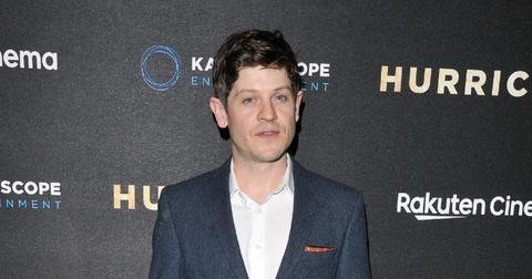 Iwan Rheon at Hurricane UK film premiere