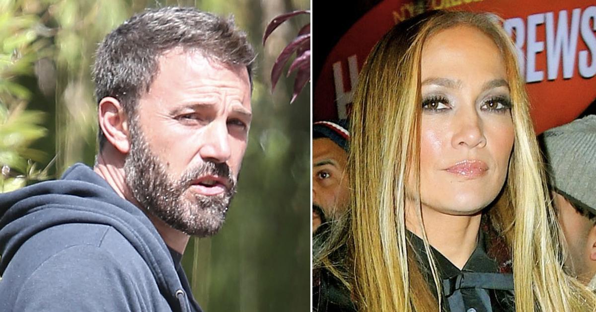 Ben Affleck Felt Like Jennifer Lopez Was The One Who Got Away Source