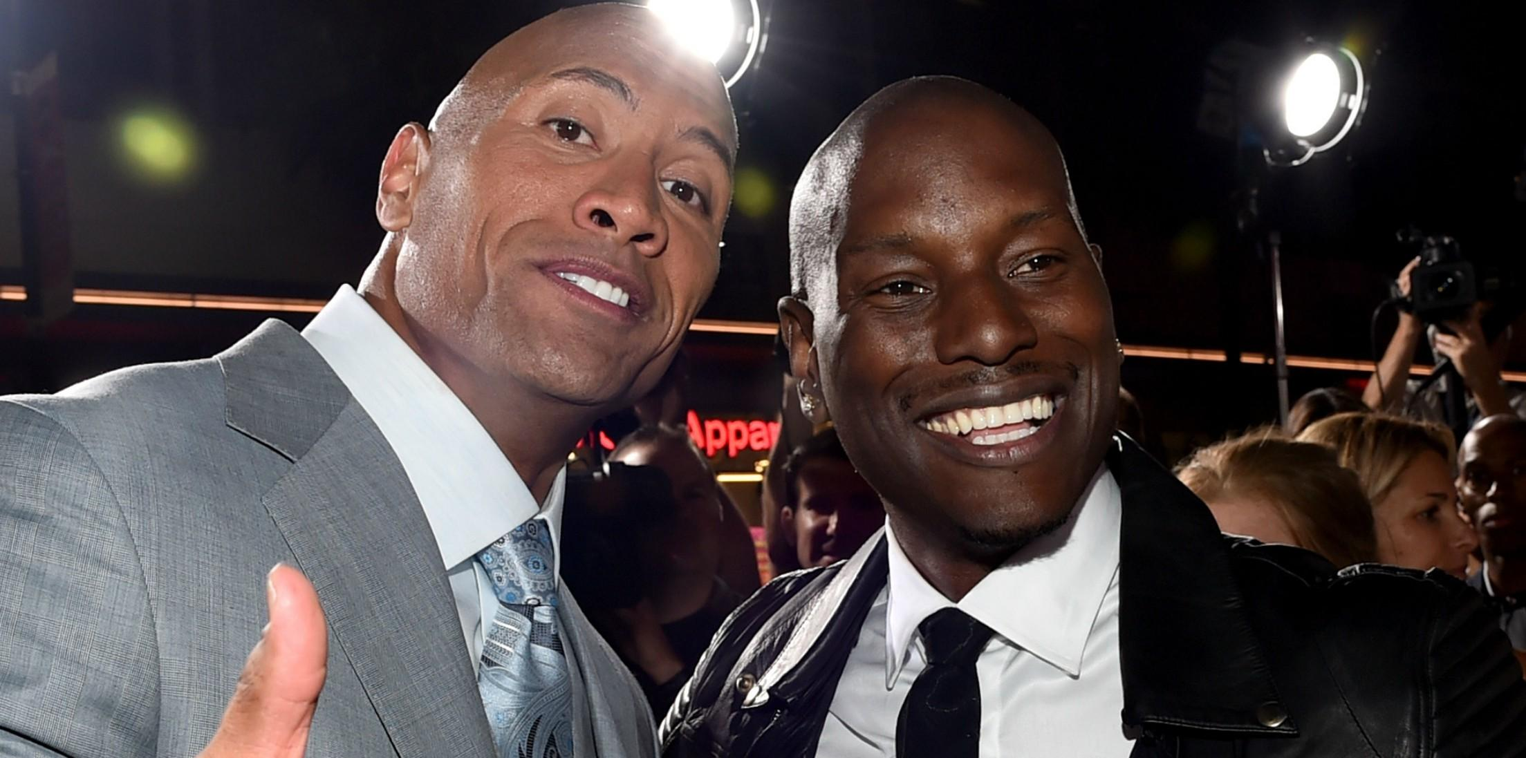 The rock instagram feud fast and furious h