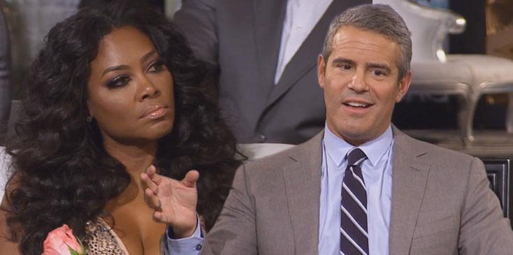 Andy Cohen Disses Kenya Moore Apology
