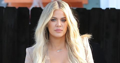 Khloe Kardashian oozes sex appeal as she departs from the family studio