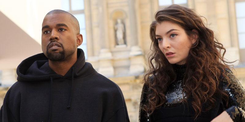 Kanye Steals Lordes Set PP