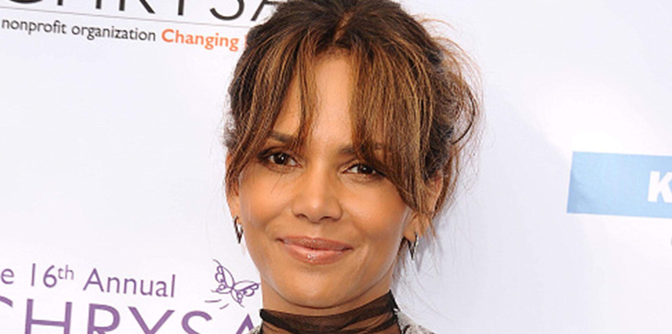 Halle berry pregnant 50 feature