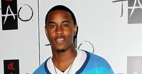 Jeremih Wearing a Blue Outfit