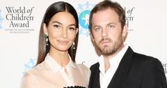 Lily Aldridge and husband