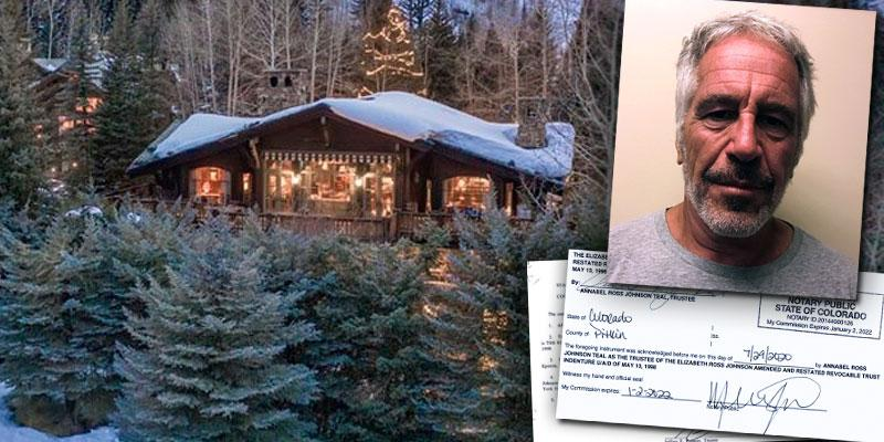 Jeffrey Epstein Owned Colorado Ski Chalet That Sold For $24MILLION In July