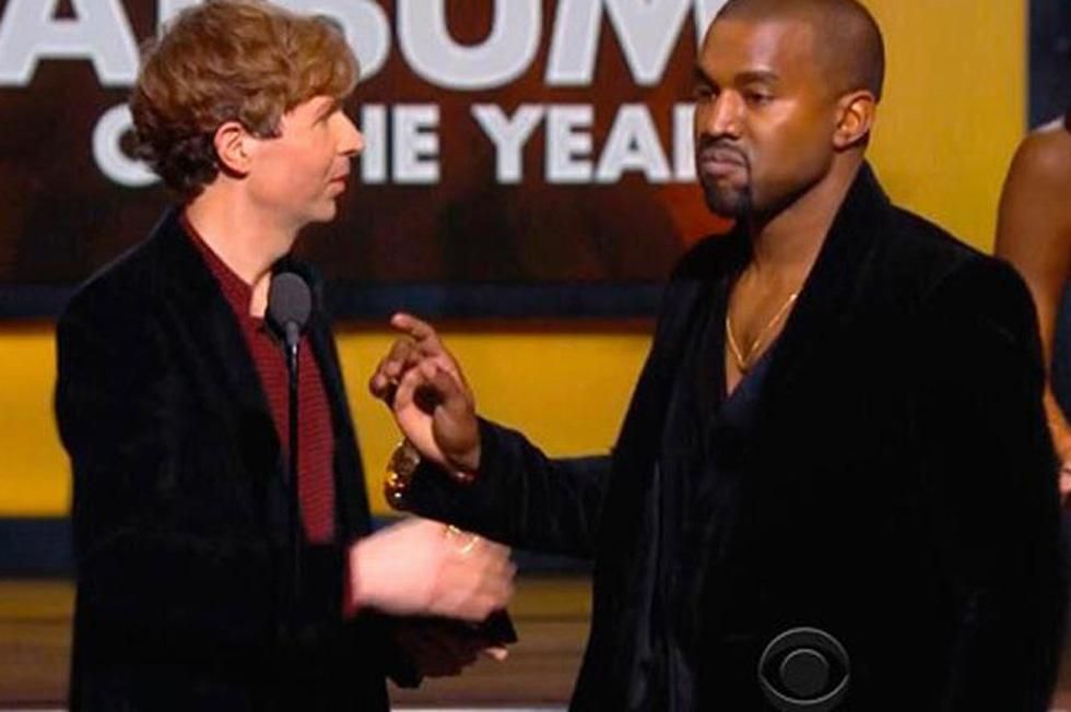 Beck kanye west grammy awards