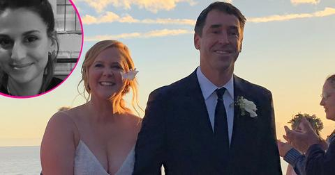 Amy schumer ex posts girlfirend surprise wedding
