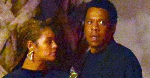 *EXCLUSIVE* Jay Z and Wife Beyonce enjoying a date night out in Miami **MUST CALL FOR PRICING**