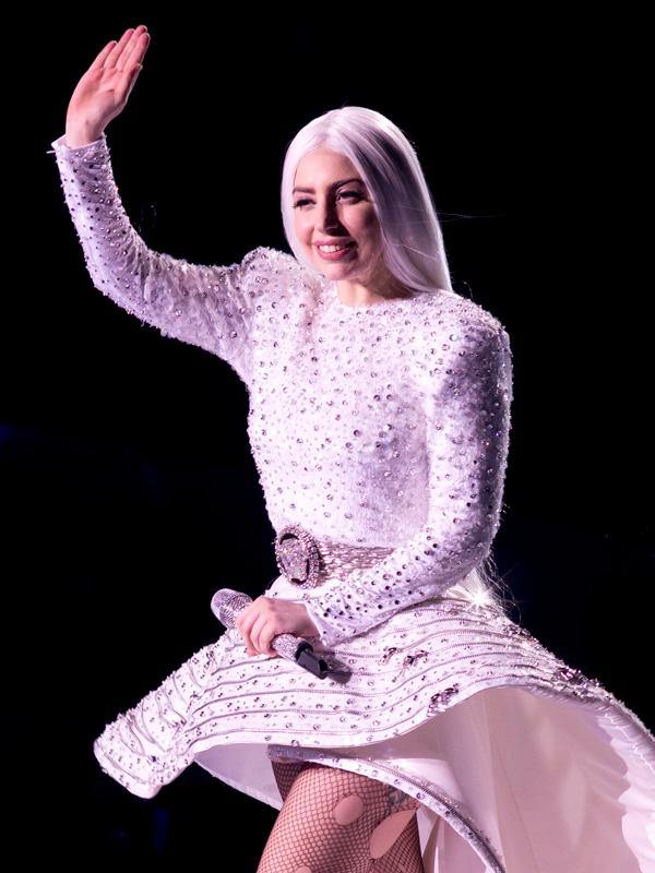 """Lady Gaga """"The Artpop Ball"""" Tour Stop at Madison Square Garden in NY"""