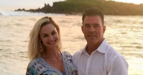 Meghan King Edmonds And Jim Edmonds On Beach Interview