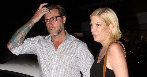 Tori spelling husband dean debt