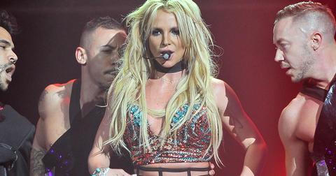 Britney Spears Shirtless Dancers PP