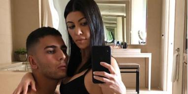 Kourtney kardashian straddles younes bendjima nsfw pic hero