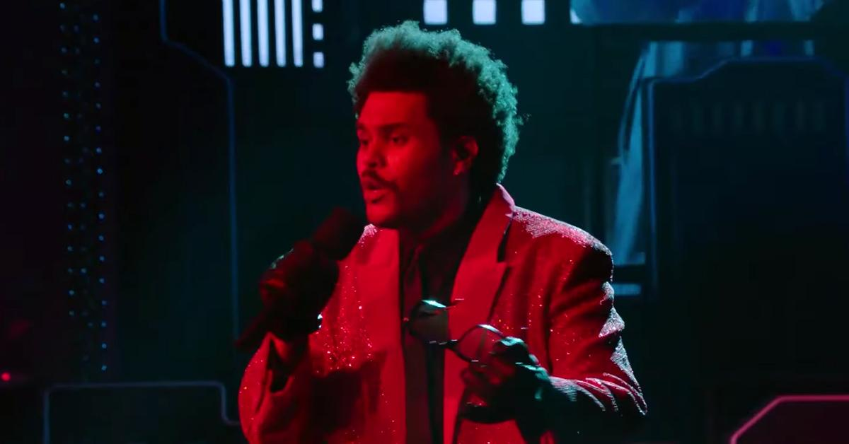 the weeknd face super bowl lv halftime show bad reviews pf
