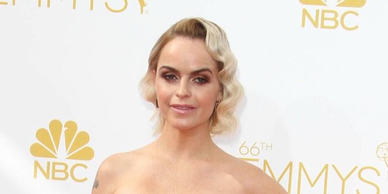 Taryn Manning Wearing a Dress At the Emmys