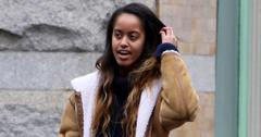 Malia Obama flashes a gorgeous smile picking up lunch