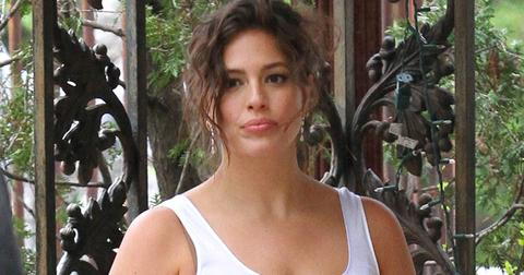 Ashley Graham Poses For A Photoshoot In Manhattan
