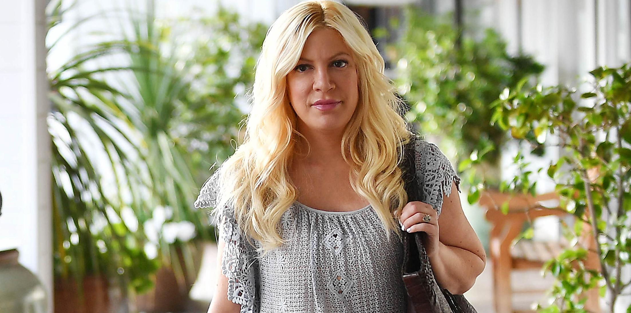 Tori spelling benihana lawsuit feature