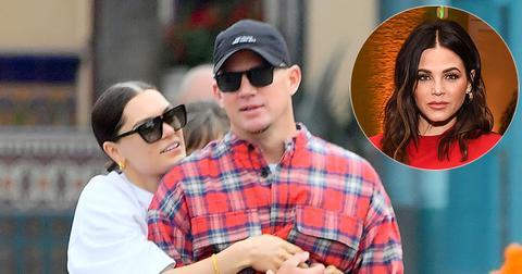 Channing Tatum And Jessie J Cuddling Jenna Dewan Inset