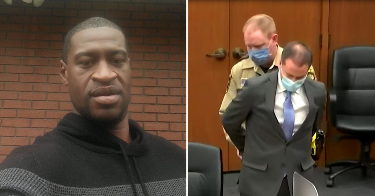 verdict george floyd murder trial death derek chauvin cop pf