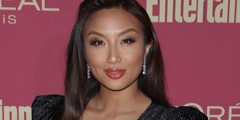 Jeannie Mai Black Dress Repressed Emotions Childhood Sexual Abuse 'The Real'