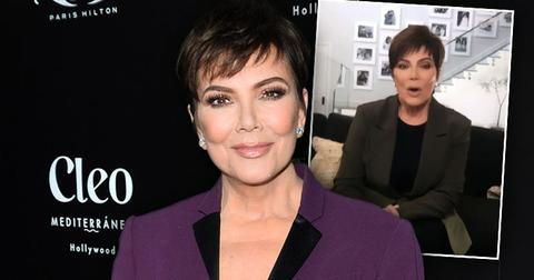 Kris Jenner Reacts to 'Real Housewives' Rumors, Talks End of 'Keeping Up' on Ellen Degeneres'show