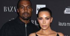 Kim Kardashian Family Dinner Photo Ranch Wyoming