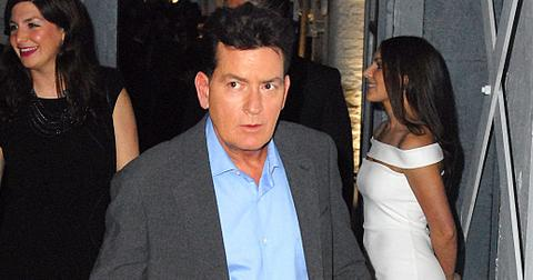 Charlie Sheen attends the Lelo Hex VIP launch party at Vinyl factory