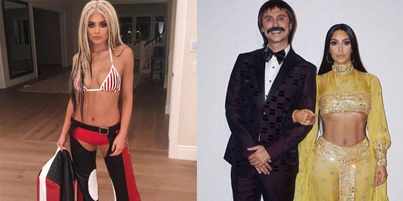 Kylie Jenner Kim Kardashian Halloween Costumes