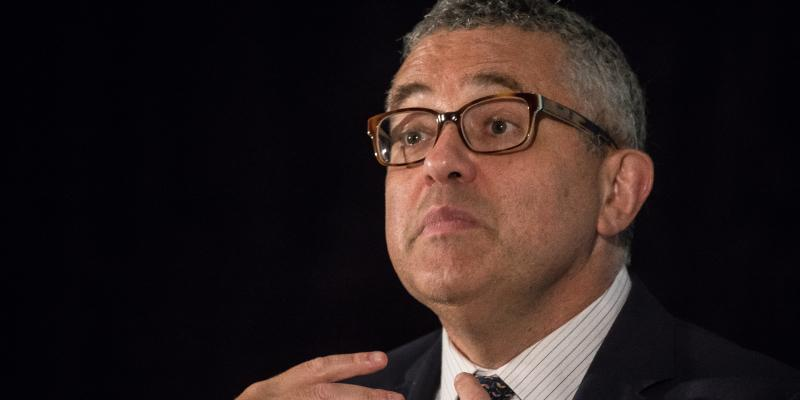 Legal writer Jeffrey Toobin Appears at the National Book Festival in Washington D.C.